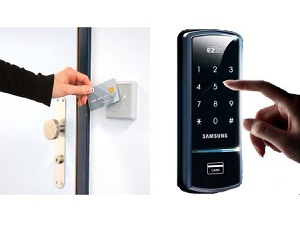 Card-and-Code-Access-Control