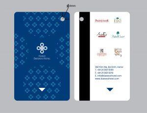 Daewoo Hotel Keycard Blue chinh