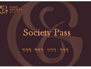 SOCIETY VIP CARD