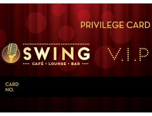 Swing Vip card-out