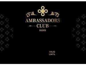 ambassador card print