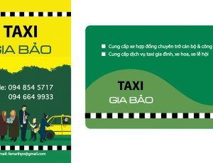 in taxi gia bao